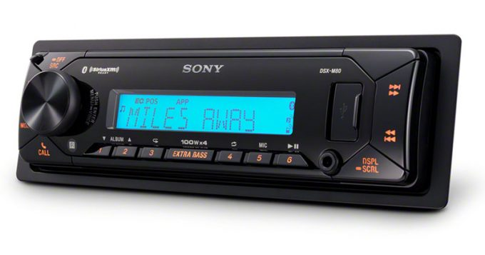 Product Spotlight Sony DSX-M80 Marine Bluetooth Receiver